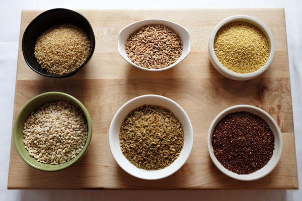 whole grains are complex carbs