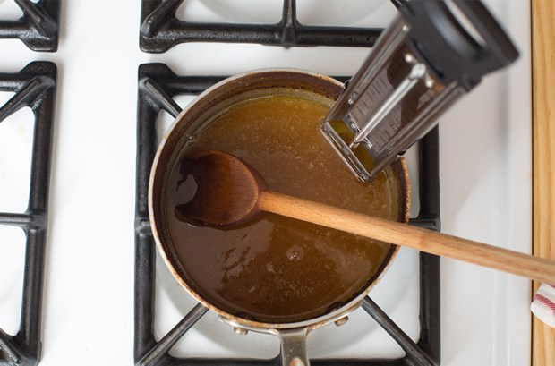 Cider Caramels from Blue Apron