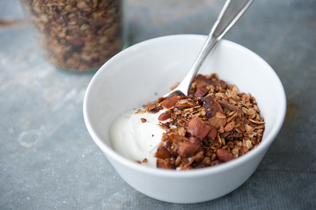 Cardamom Granola | Big Girls Small Kitchen