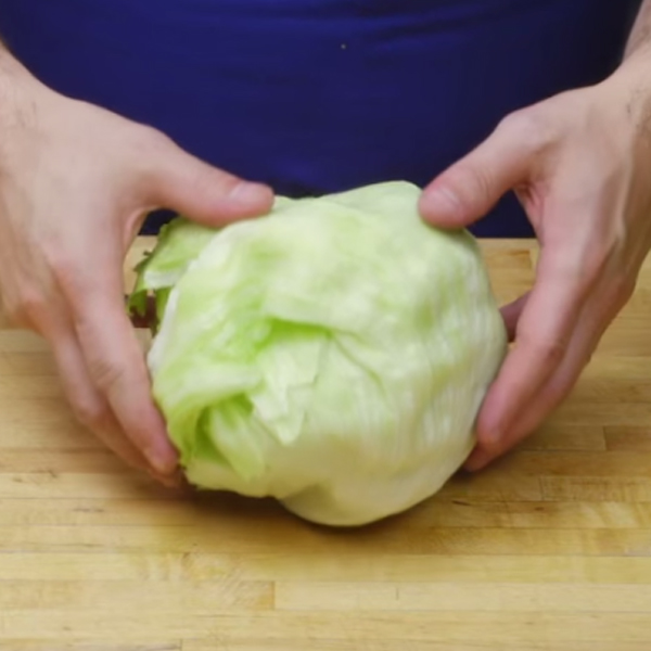 How-To: Core Iceberg Lettuce