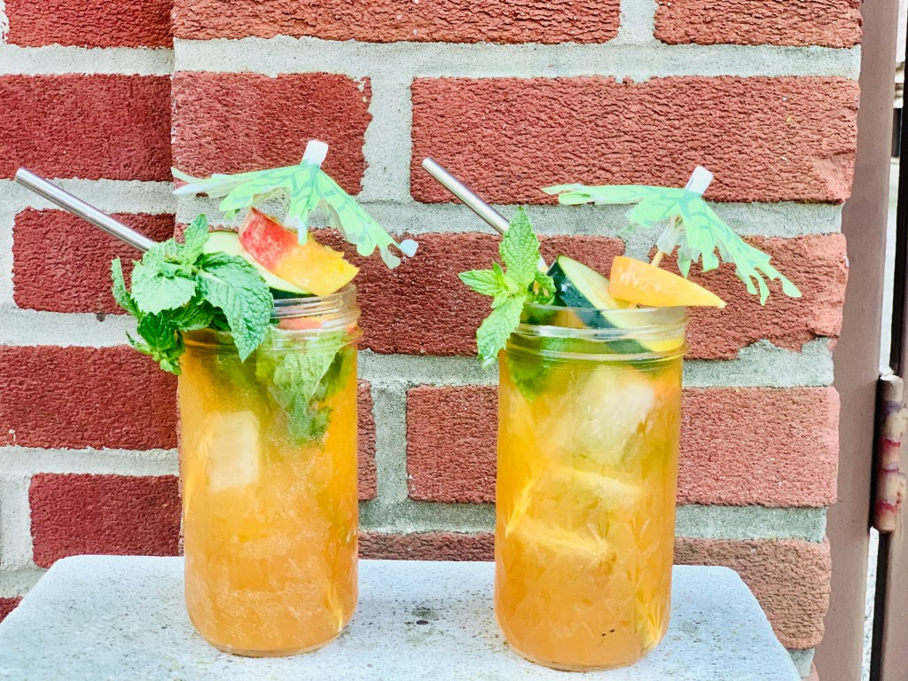 A summery Pimm's cup