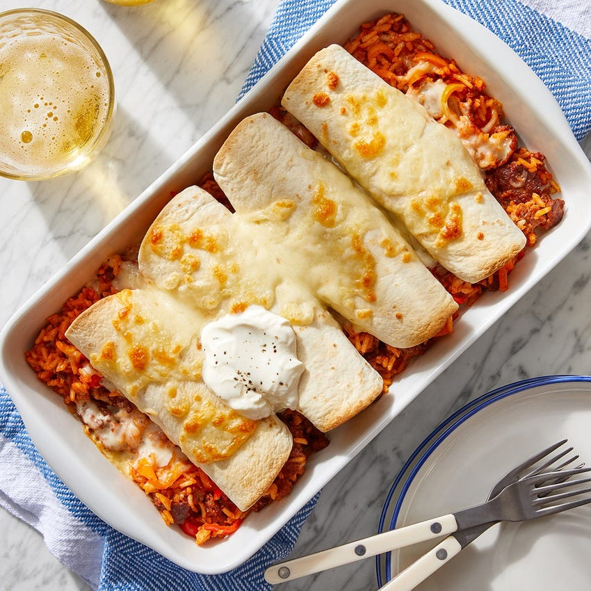 cheesy enchiladas