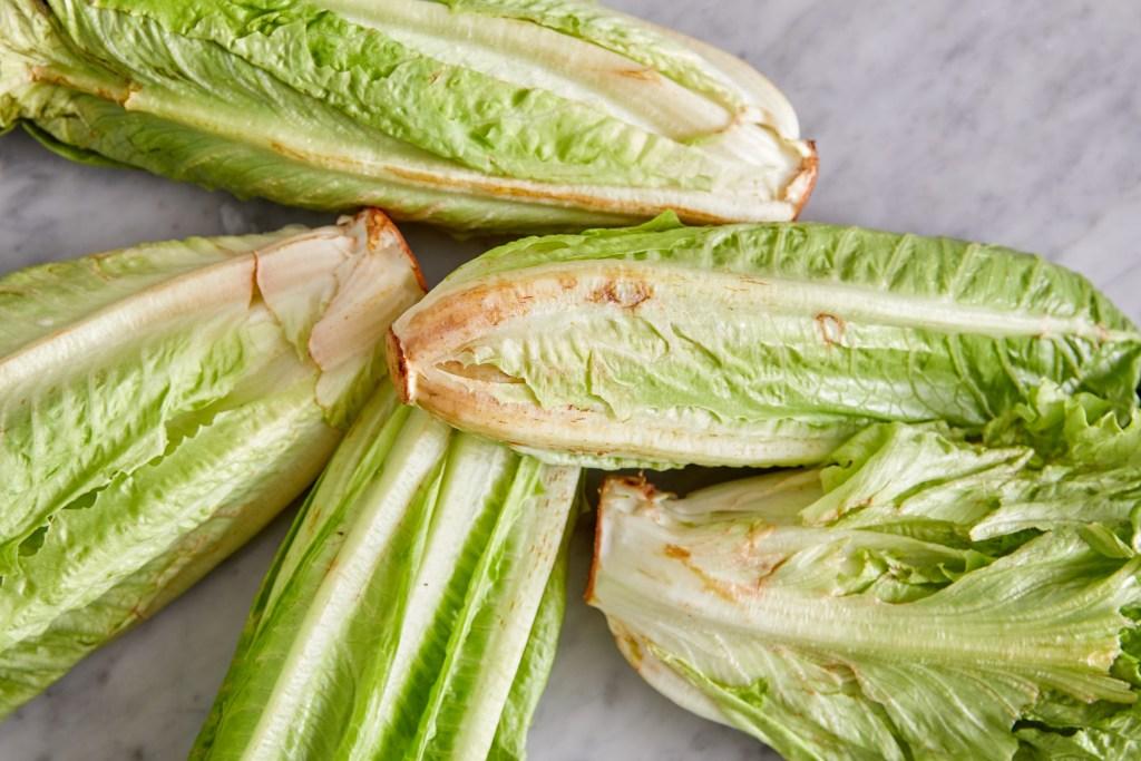 rusty brown lettuce