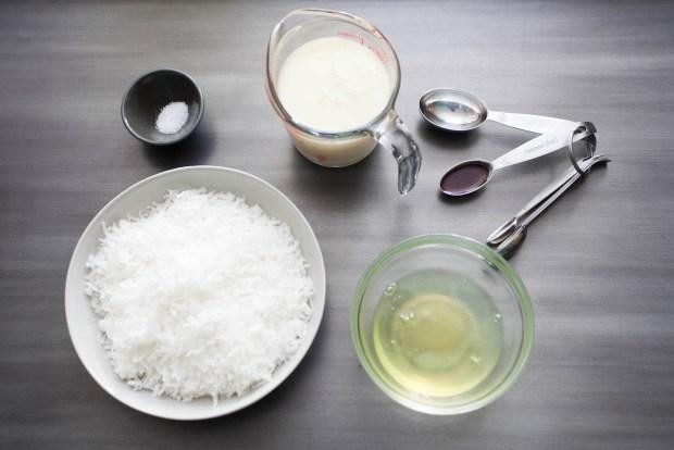 coconut macaroon ingredients