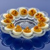 Plate of deviled eggs 1