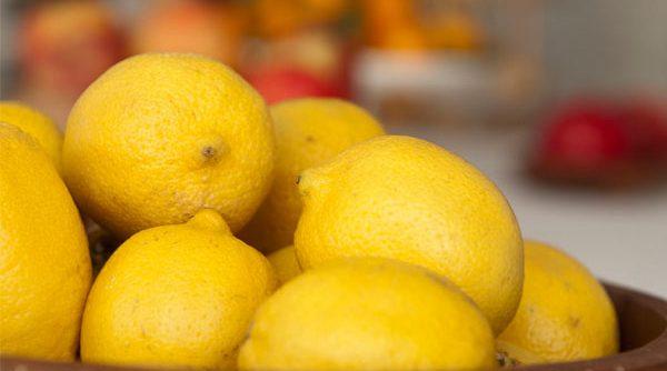 lemon table centerpiece