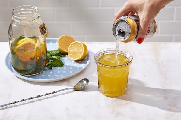 non-alcholic cocktail
