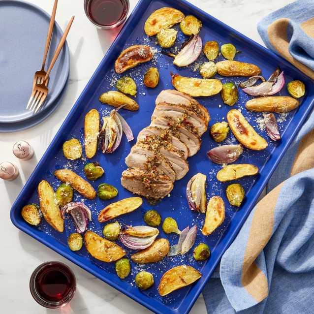 italian pork with potatoes