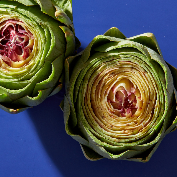 how to prepare artichokes by trimming the top
