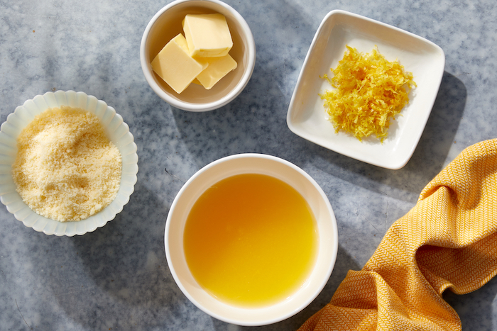 pasta al limone ingredients