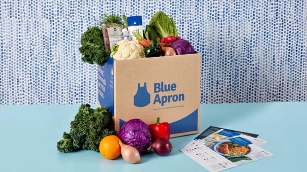 blue apron box