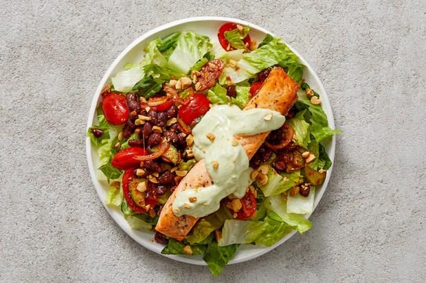 Mediterranean Diet Meal Plan with Fish & Grains