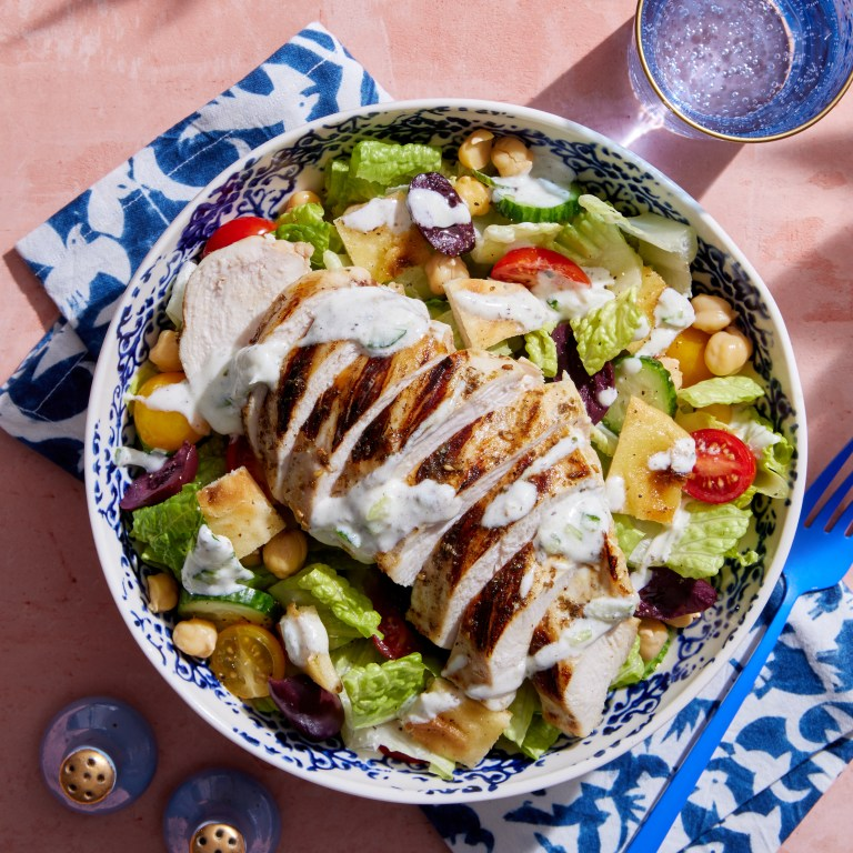 tzatziki recipe with salad