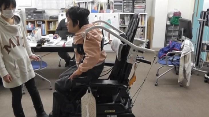 車椅子装着吊りリフト