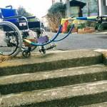 車楽 SHARAKU の階段利用