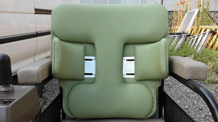 電動車椅子用バックレスト