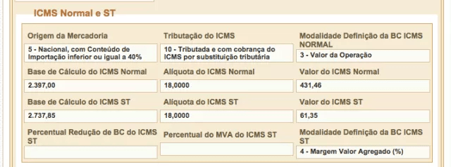 ICMS-normal