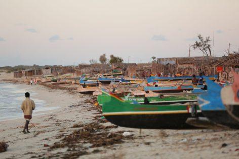 """Andavadoaka, a remote coastal village...""   Photo: Gabriel Diamond"