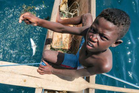 A Vezo boy fishing at the weekend | Photo: Ben Honey