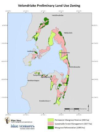 Velondriake preliminary land use zoning