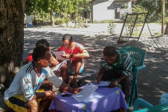 Community consultations in Beloi village | Photo: Nick Piludu