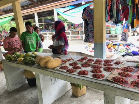Saturday market in Beloi Village | Photo: Christina Saylor