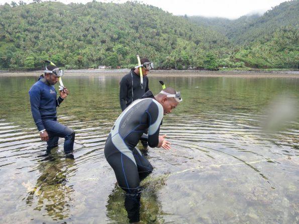 Reef survey training