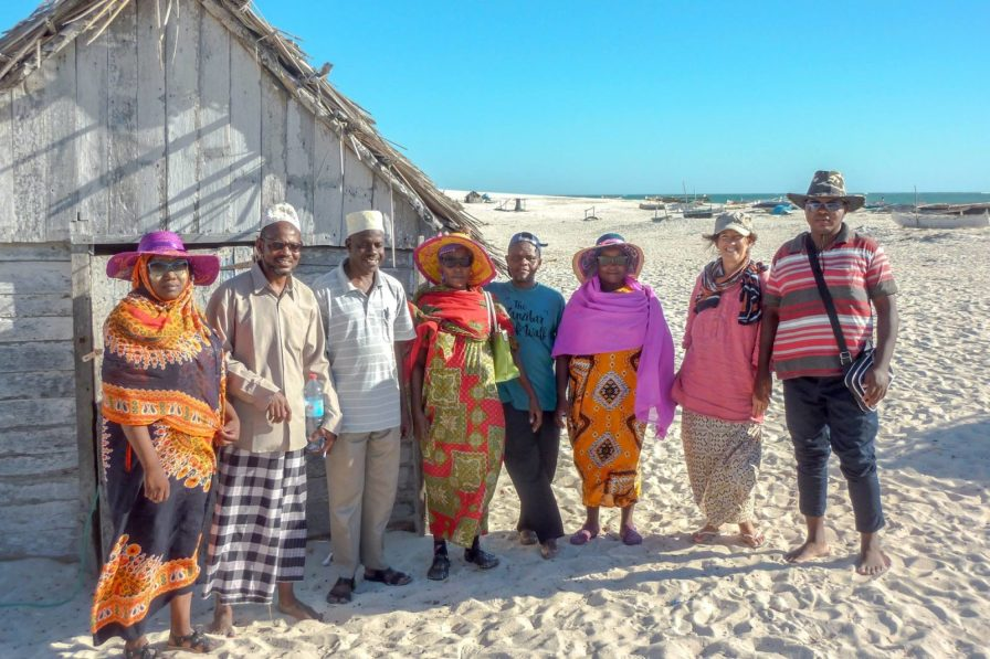 The learning exchange group, comprised of fishers from the Comoros and Zanzibar | Photo: MWAMBAO