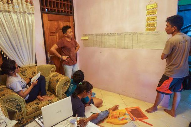 Designing the community monitoring methodology for Bulutui
