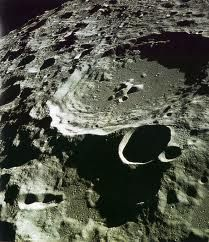 Lunar Craters NASA