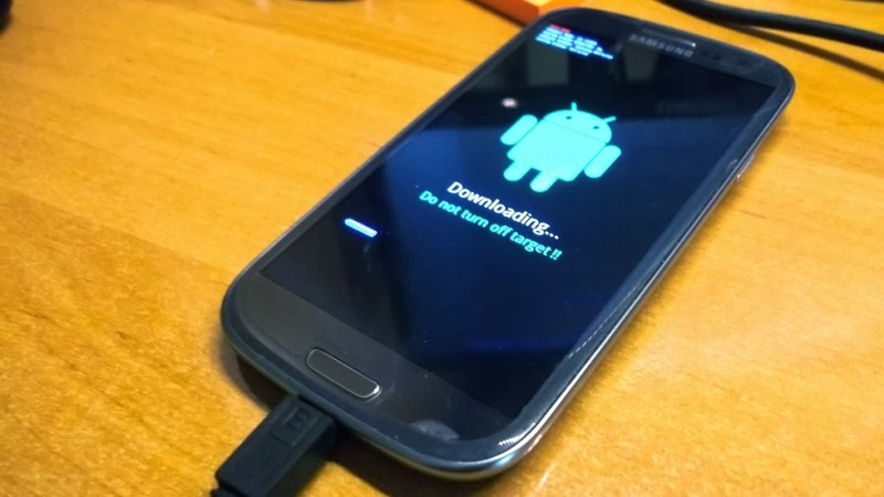 Galaxy S3 - Tryb download