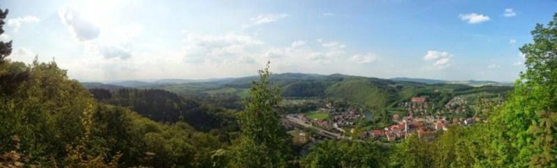 Gory Bardzkie - Panorama Bardzka