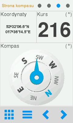 Kompas w Twonav Sportiva 2+