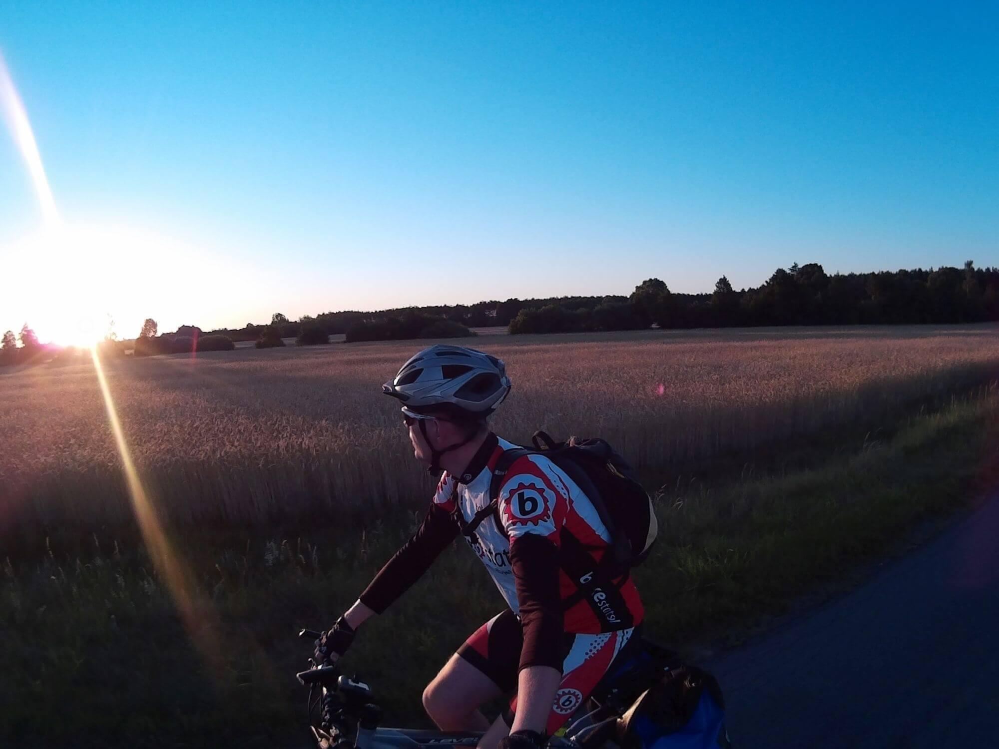 Jedź w stronę słońca