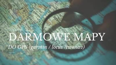 Darmowe mapy doGPS