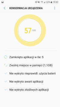 Samsung Galaxy S7 - konserwacja urzadzen w akcji