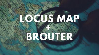 Nawigacja wLocus Map napodstawie dodatku BRouter