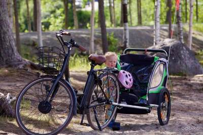 Przyczepka rowerowa – wybór niejest prosty