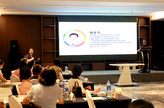 Panel Discussion by Professor Professor Li Wei (middle photo) from Nan Fang Hospital at Body Interact Chinese Community Meeting