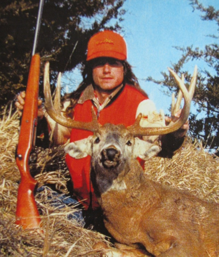 James Reed with his biggest whitetail