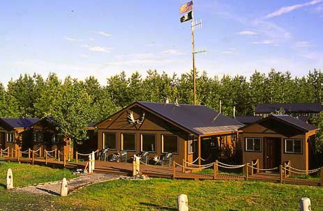 The lodge of Alsek River Guiding and Outfitting