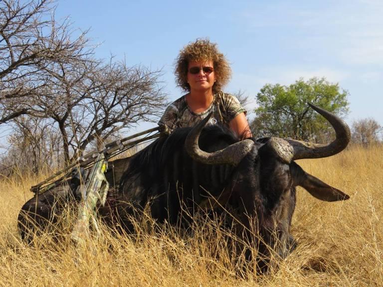 crossbow blue wildebeest