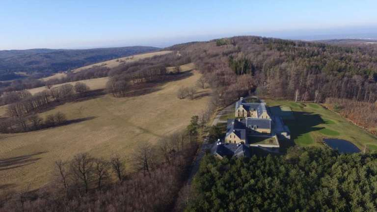An ancient little castle built as a hunting lodge