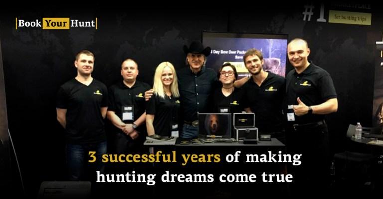 The people behind BookYourHunt.com success
