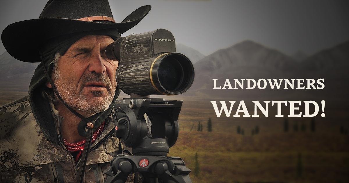 Jim Shockeys BookYourHunt is looking for hunting leases