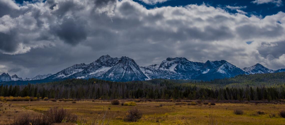 Beautiful landscape of Idaho