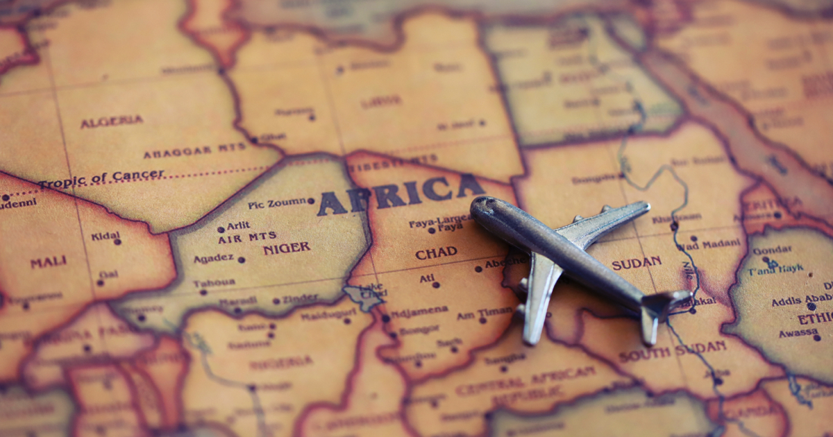 Travel to Africa is possible