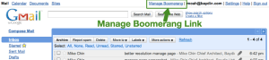 Manage Page Link
