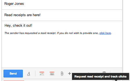 Boomerang adds Read Receipts to Gmail!