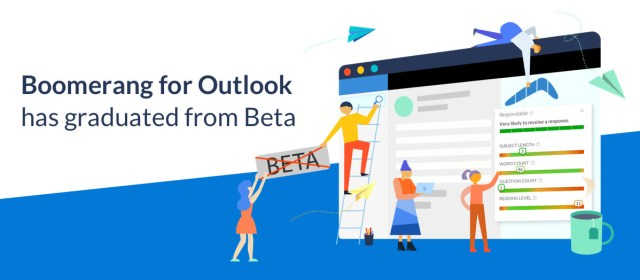 Boomerang for Outlook Graduates from Beta – New Features and Pricing Update
